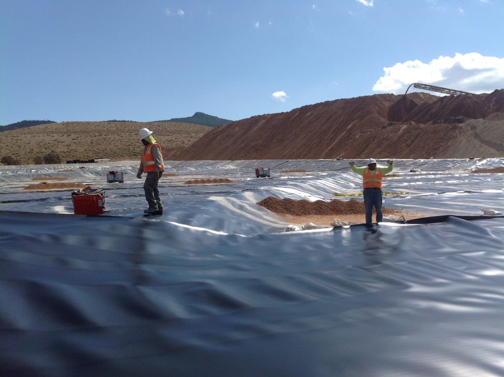Image of lining at Borealis Mine, NV