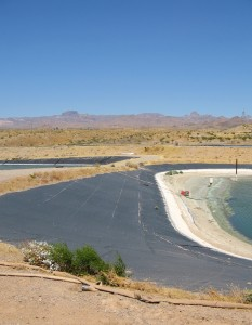 Katherine's Landing waste water treatment facility in 2005