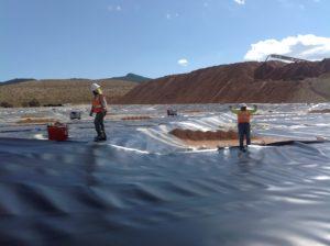 Image of lining at Borealis Mine, NV