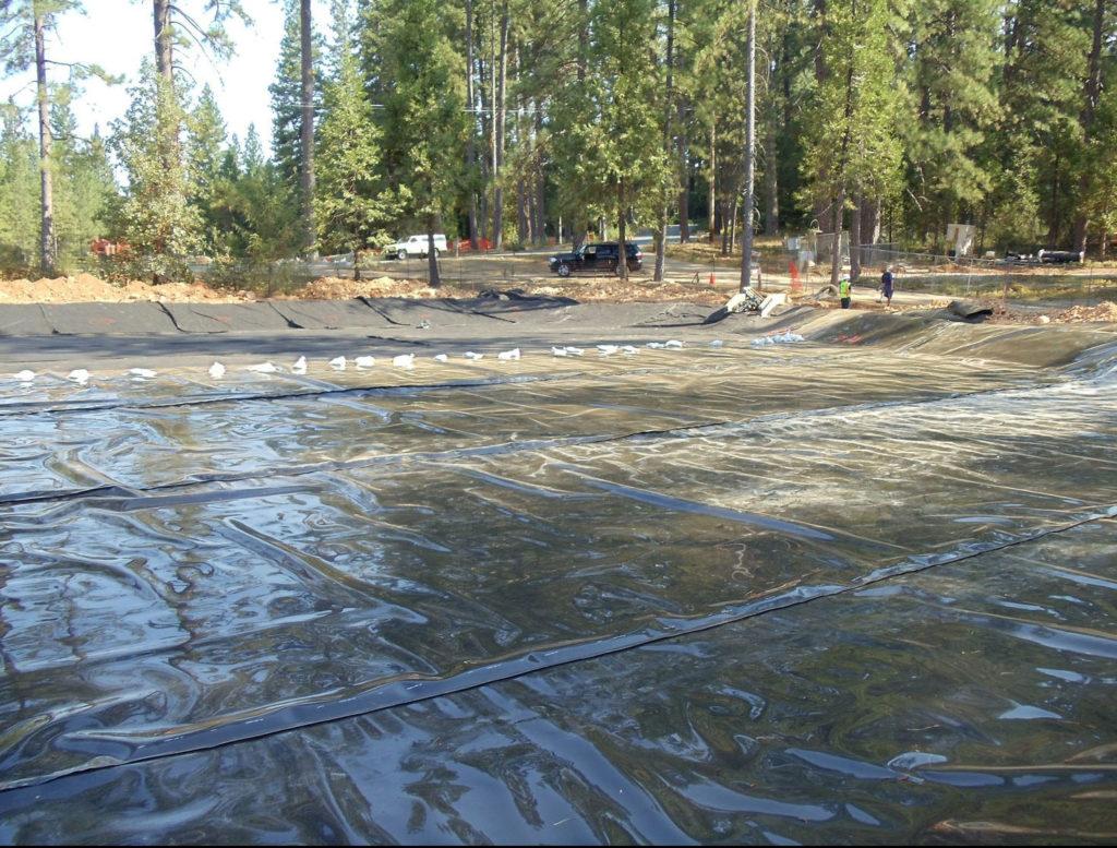 Image of pond lining