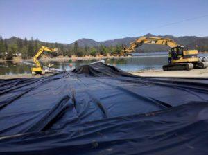 Image of lining at Whiskey Town Lake