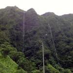 Waterfalls near the Kapaa Transfer Station.